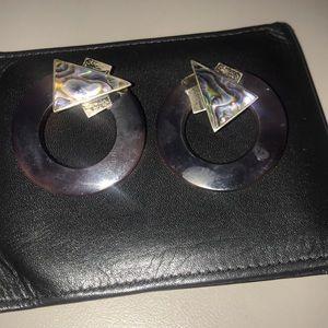 DEVINE ZURICH ABALONE & silver 925 Earrings